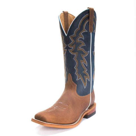 Horse Power Men's Sugared Blue Jeans Cowboy Boots HP1836