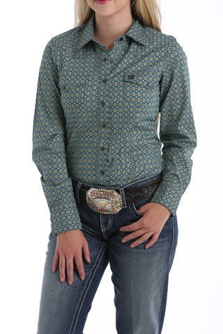 CINCH WOMEN'S MEDALLION PRINTED WESTERN SHIRT