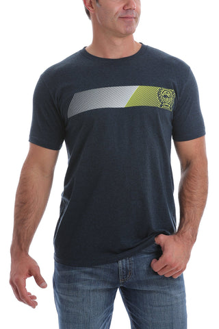 CINCH MEN'S CLASSIC CREW NECK LOGO TEE - ABYSS BLUE