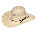 Twister Open Crown Straw Hat