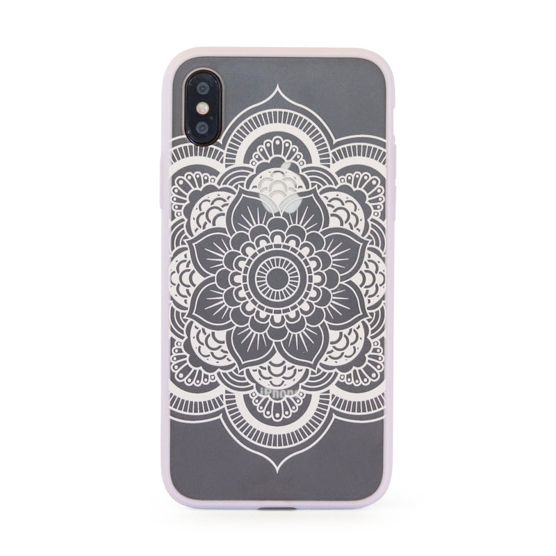 White Vintage Flower // Hard Mobile Phone Case for iPhone & Samsung