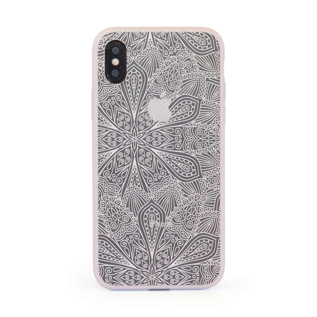 White Vintage Garden // Mobile Phone Case for iPhone