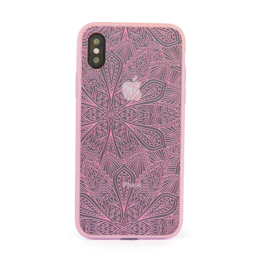 Pink Vintage Garden // Mobile Phone Case for iPhone