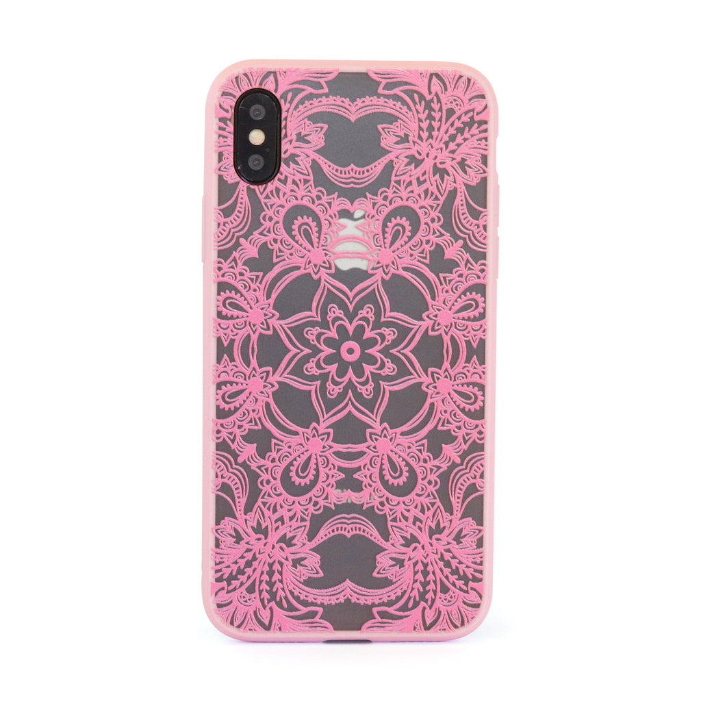 Pink Star Mandala // Mobile Phone Case for iPhone