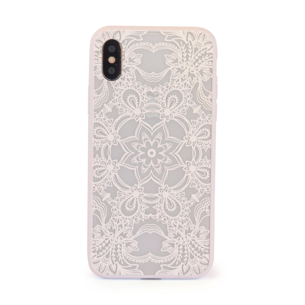 White Star Mandala // Mobile Phone Case for iPhone