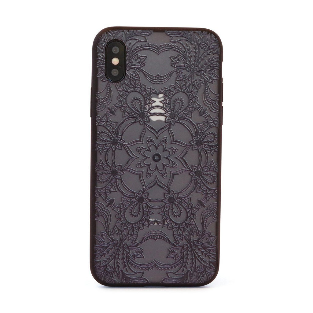 Black Star Mandala // Mobile Phone Case for iPhone