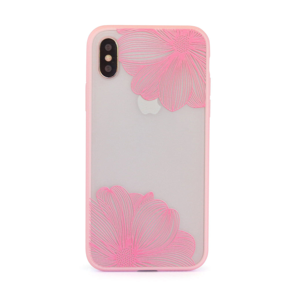 Pink Twin Flower // Mobile Phone Case for iPhone