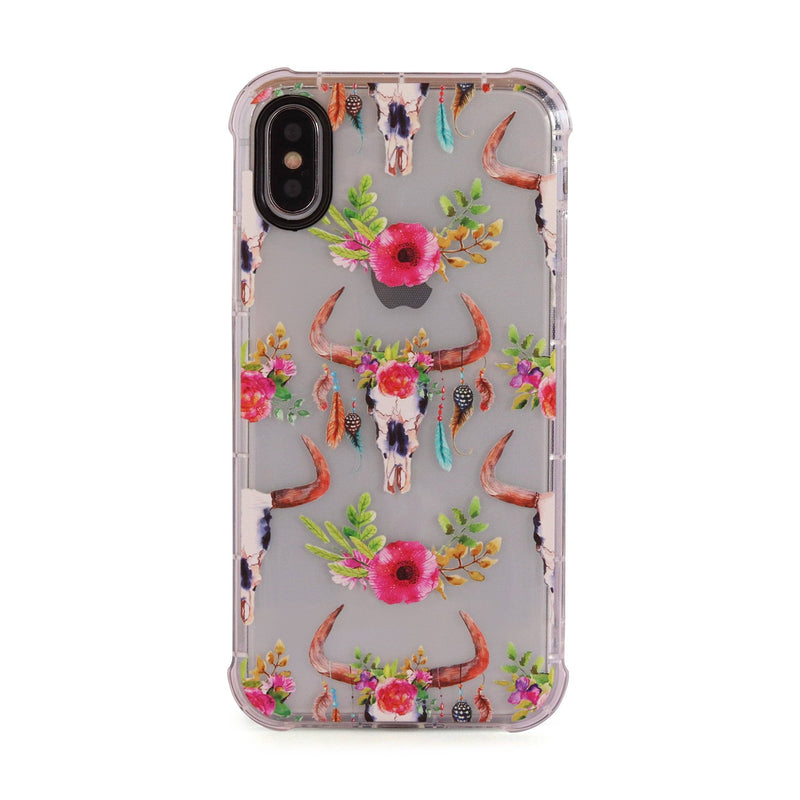 Deer Hunter - 3D Embossed Protective Air Cushion Case // Protective Mobile Phone Case for iPhone & Samsung