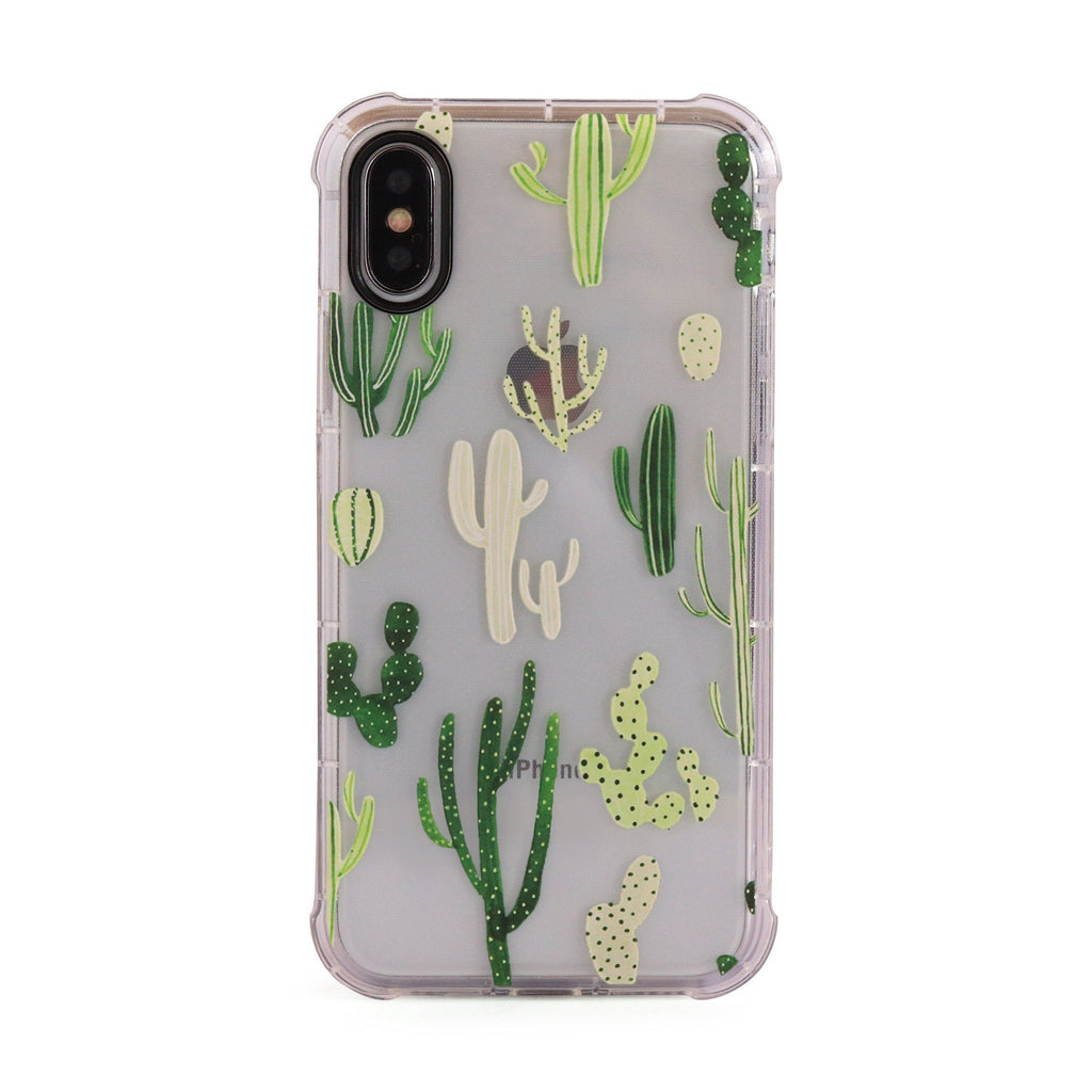 Cactus - 3D Embossed Protective Air Cushion Case // Protective Mobile Phone Case for iPhone & Samsung
