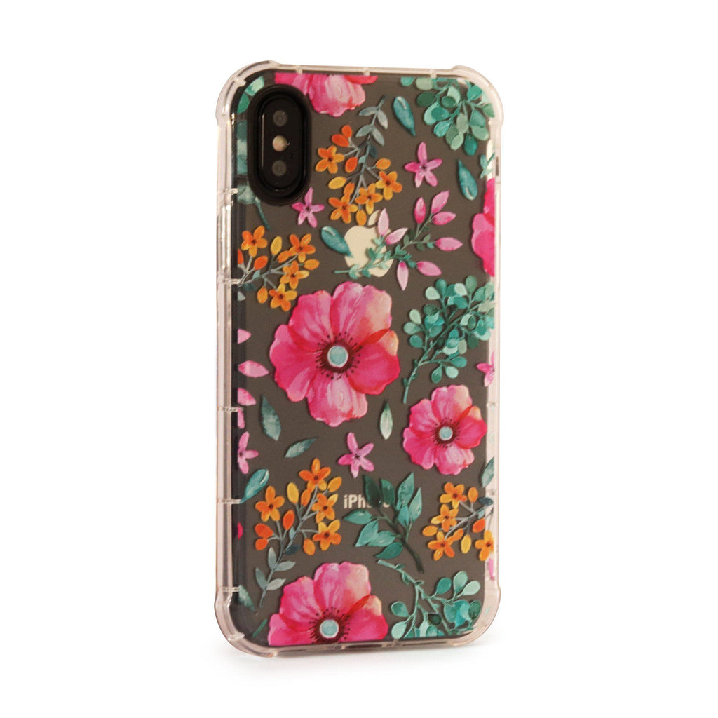Flowers - 3D Embossed Protective Air Cushion Case // Protective Mobile Phone Case for iPhone & Samsung