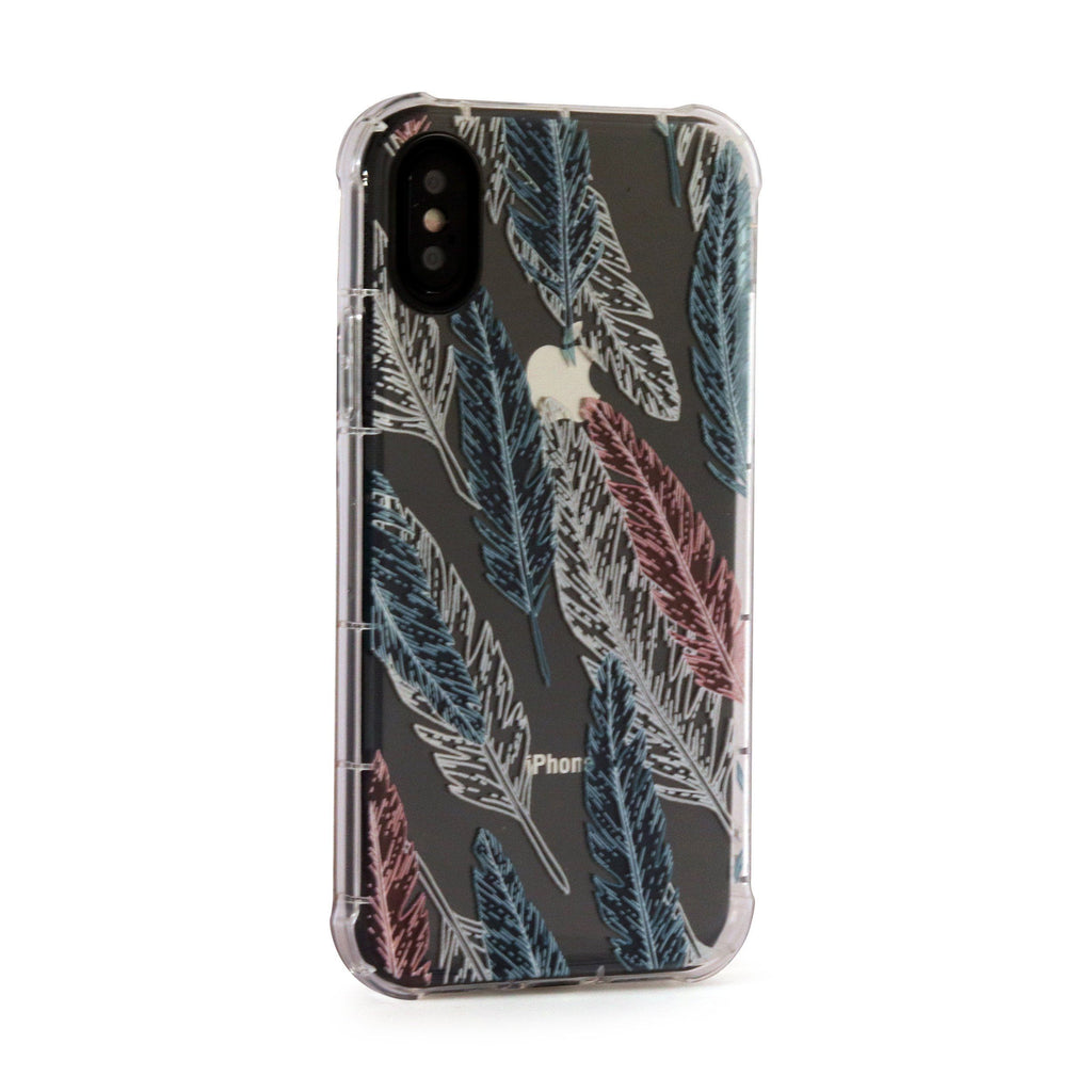 Feather - 3D Embossed Protective Air Cushion Case // Protective Mobile Phone Case for iPhone & Samsung