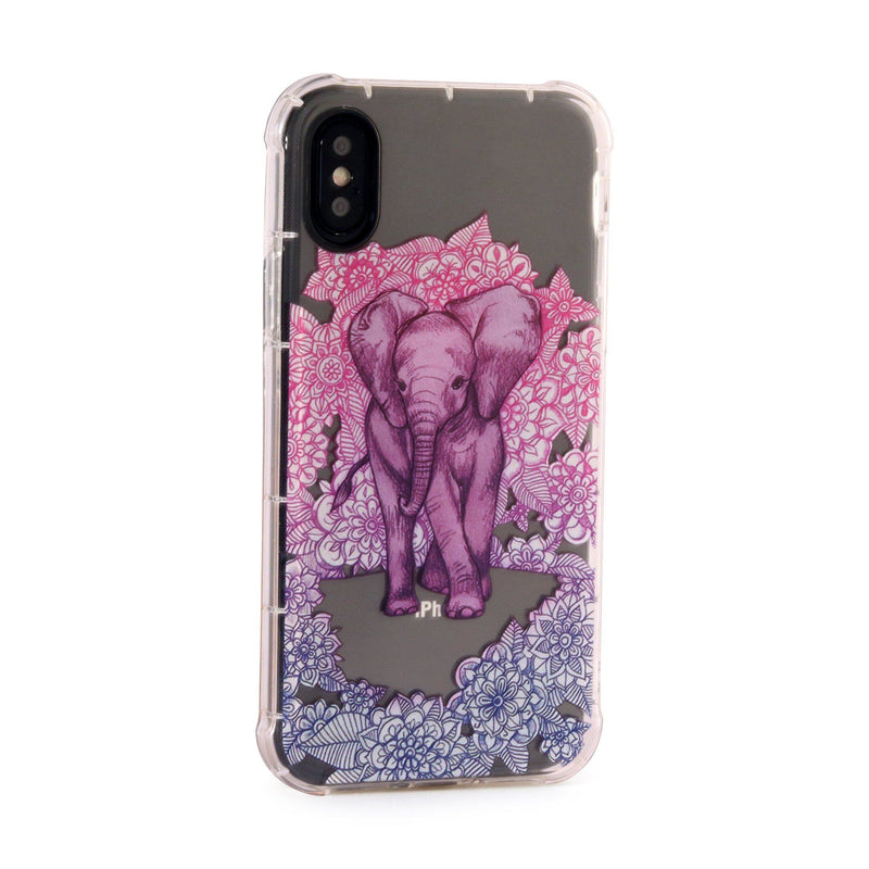 Elephant - 3D Embossed Protective Air Cushion Case // Protective Mobile Phone Case for iPhone & Samsung