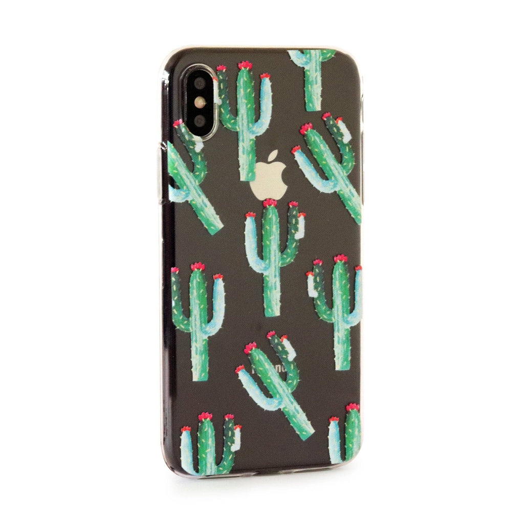 Cactus // Tropical Soft TPU Mobile Phone Case for iPhone & Samsung