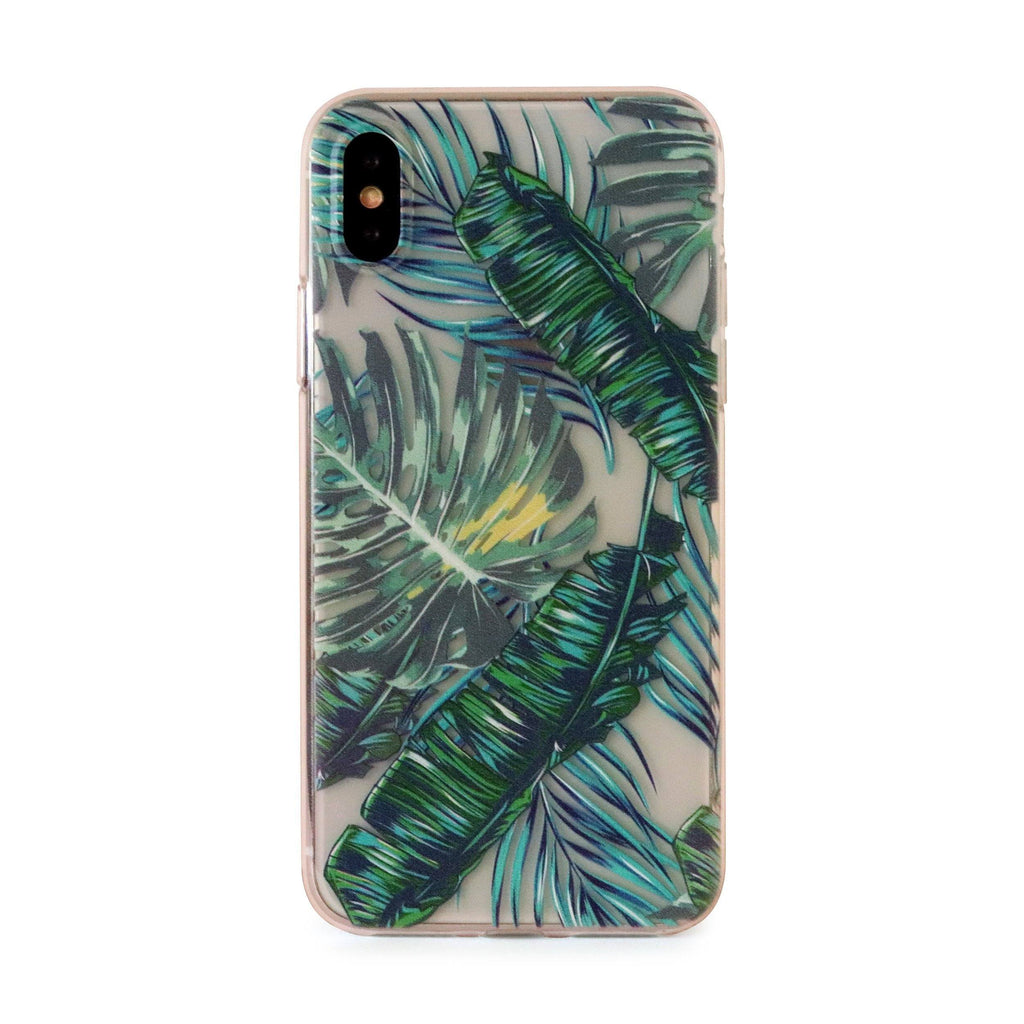 Tropical Soft TPU Mobile Phone Case