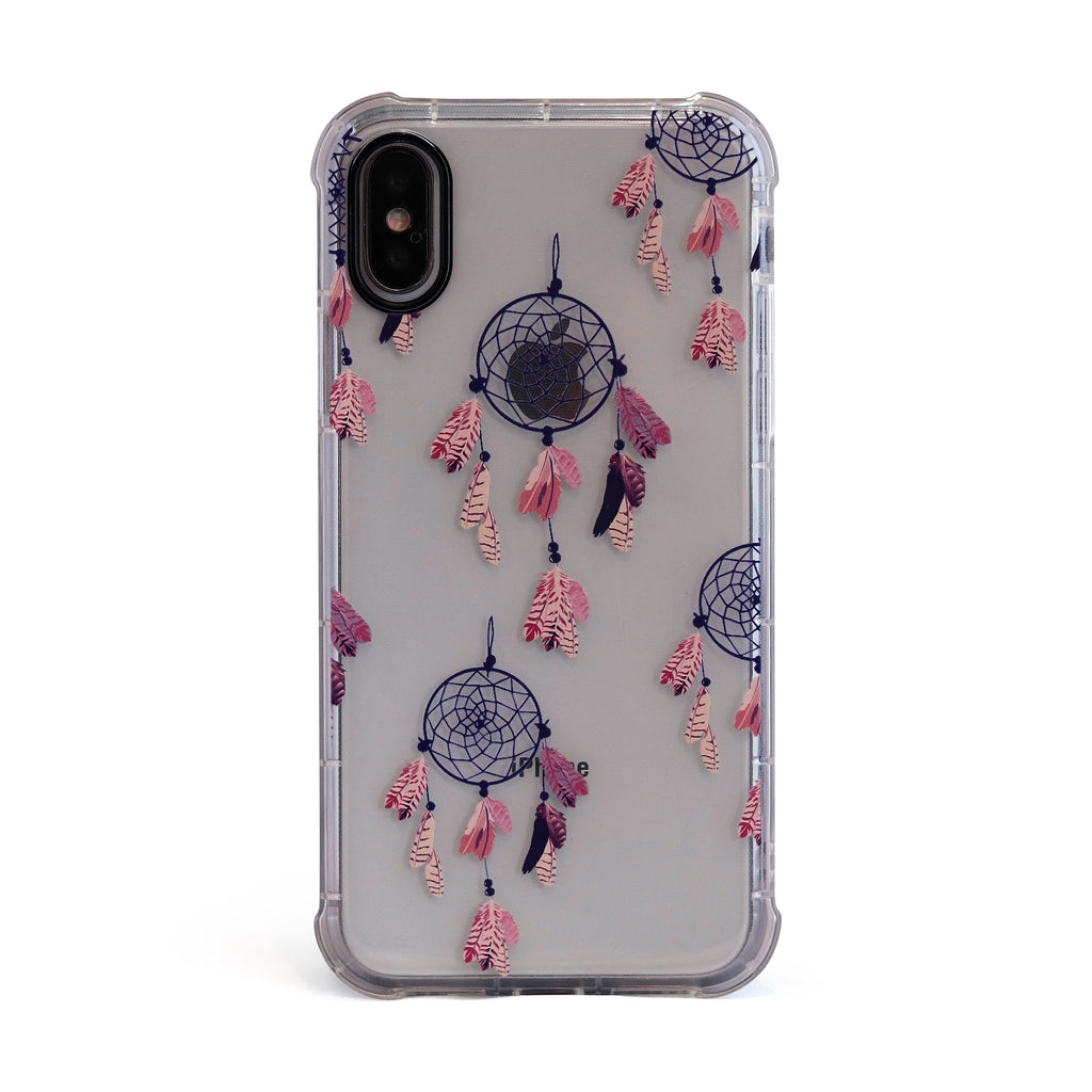 Purple Dreamcatcher - 3D Embossed Protective Air Cushion Case // Protective Mobile Phone Case for iPhone & Samsung