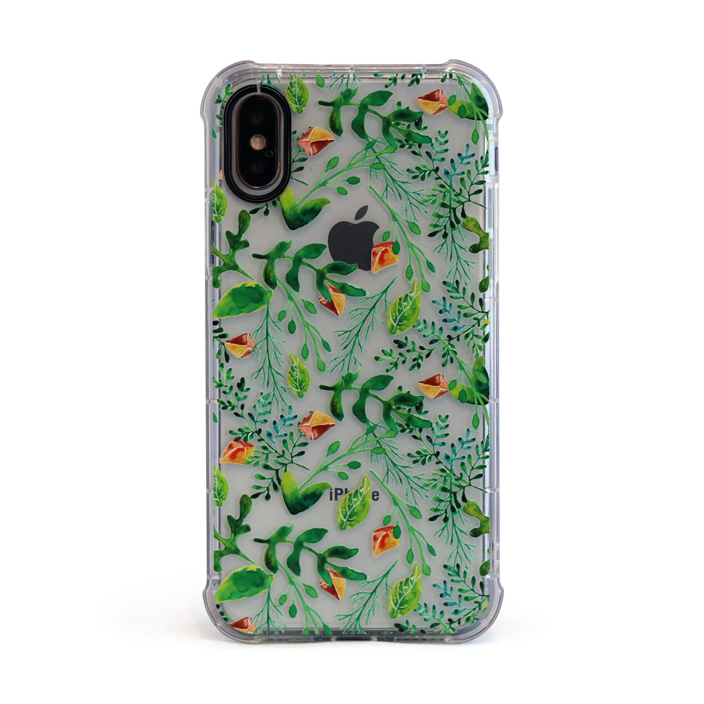 Green Vine - 3D Embossed Protective Air Cushion Case // Protective Mobile Phone Case for iPhone & Samsung