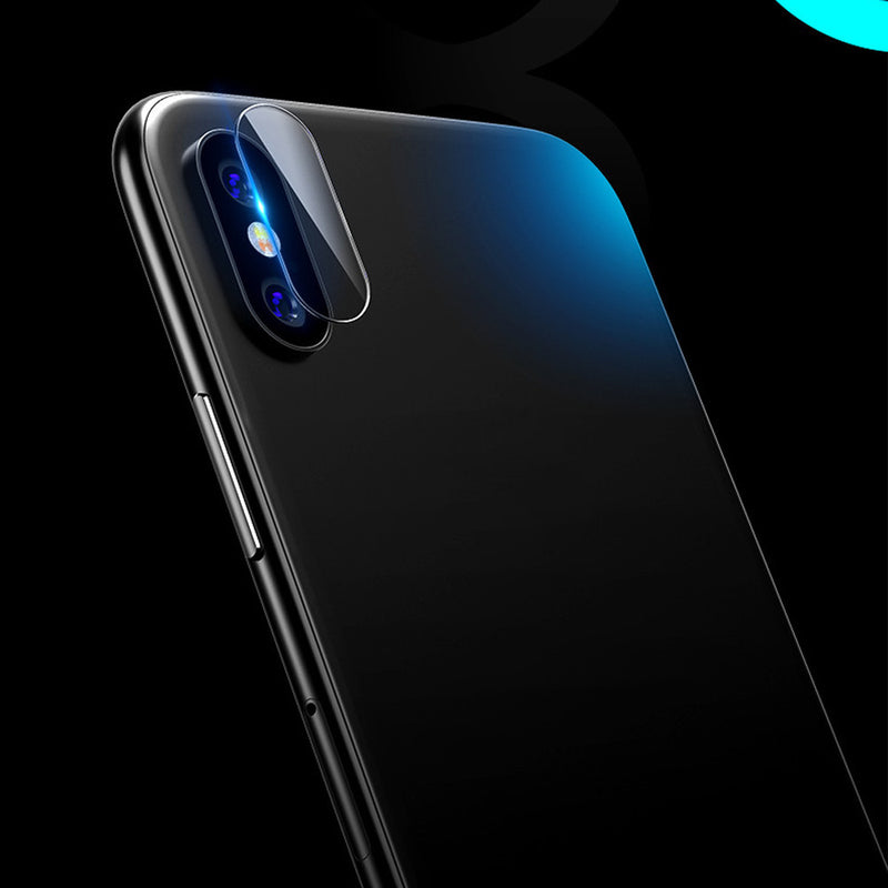 For iPhone X 9H Hardness Back Camera Lens Tempered Glass Film Protector Cover