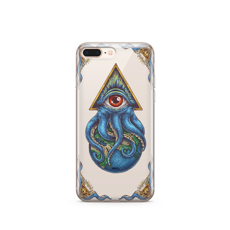 Against The World - Clear TPU iPhone Case