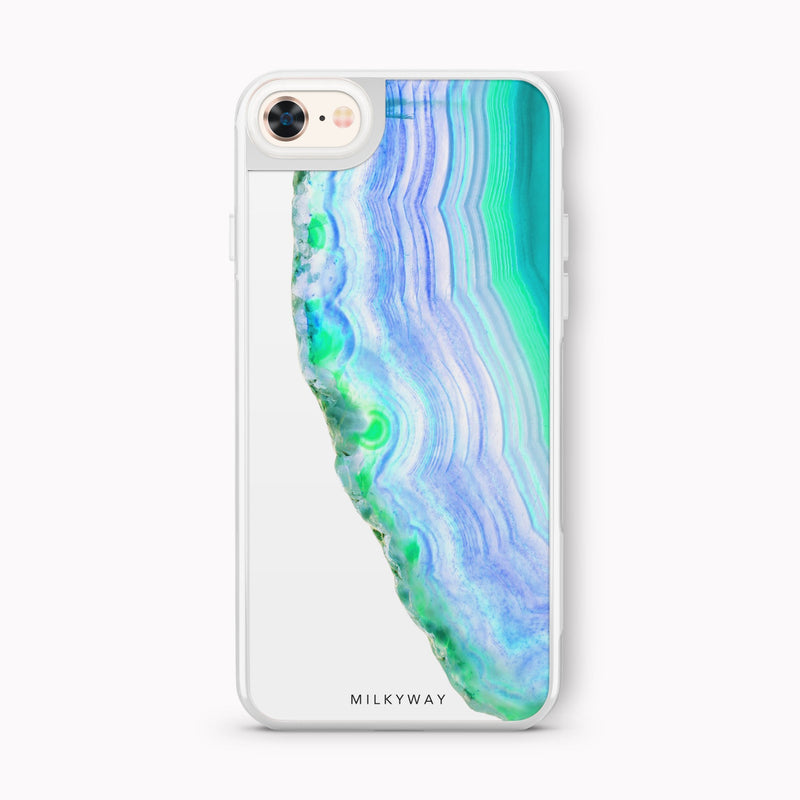 AGATE SLICE - SLATE STRONG INTERCHANGEABLE IPHONE CASE