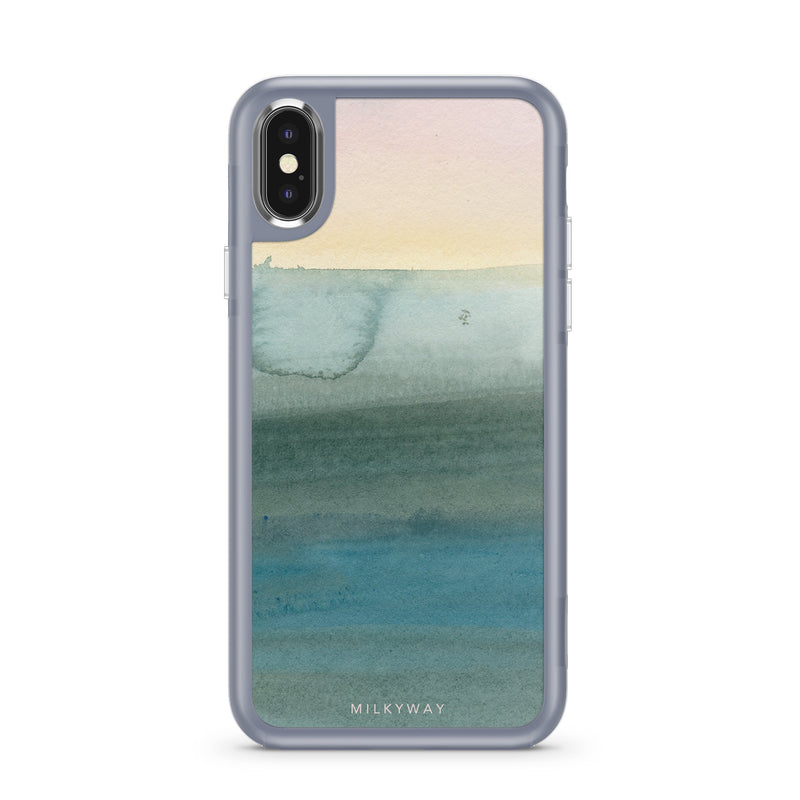 WINTER SUNRISE - SLATE STRONG INTERCHANGEABLE IPHONE CASE