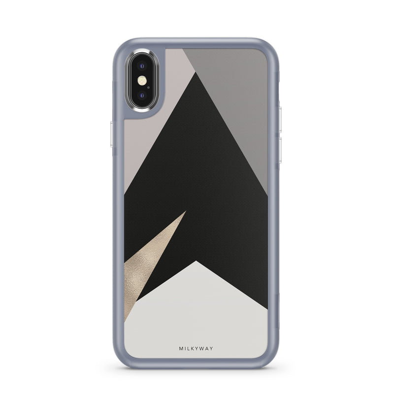 NUDE GEO - SLATE STRONG INTERCHANGEABLE IPHONE CASE