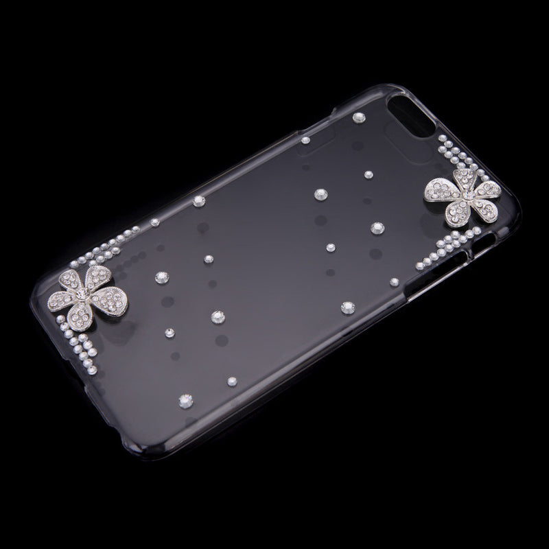Ultrathin Lightweight Plastic Fashion Bling Shell Case Protective Back Cover for iPhone 6 Plus 6S Plus