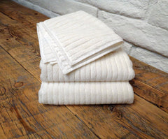 Bonini White/Ivory Washcloth