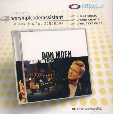 Don Moen Thank You Lord Worship Leader CD-rom