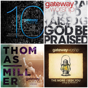 Gateway Worship v.1 4CD/2DVD Collection Bundle Pack