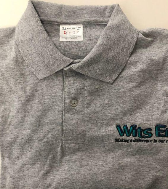 Polo Shirt Wits End Grey