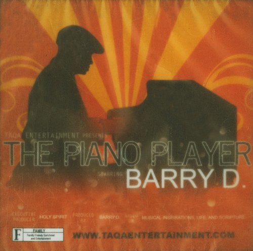 Barry D Piano Player CD
