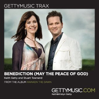 Keith Getty Benediction (May the Peace of God) {Trax} CD