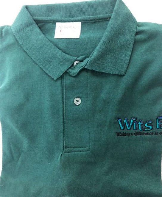 Polo Shirt Wits End Green