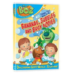 BOZ Bananas Bubbles & Bodies DVD