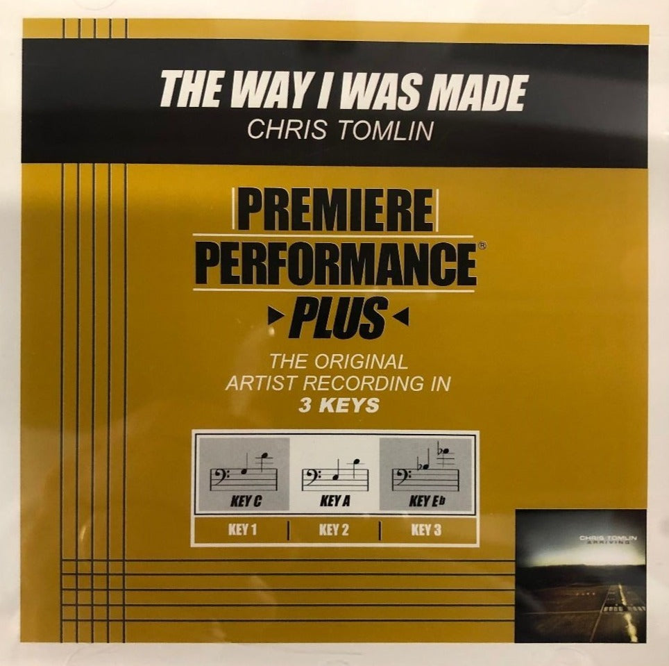 Chris Tomlin The Way I Was Made Premiere Performance Plus Track CD