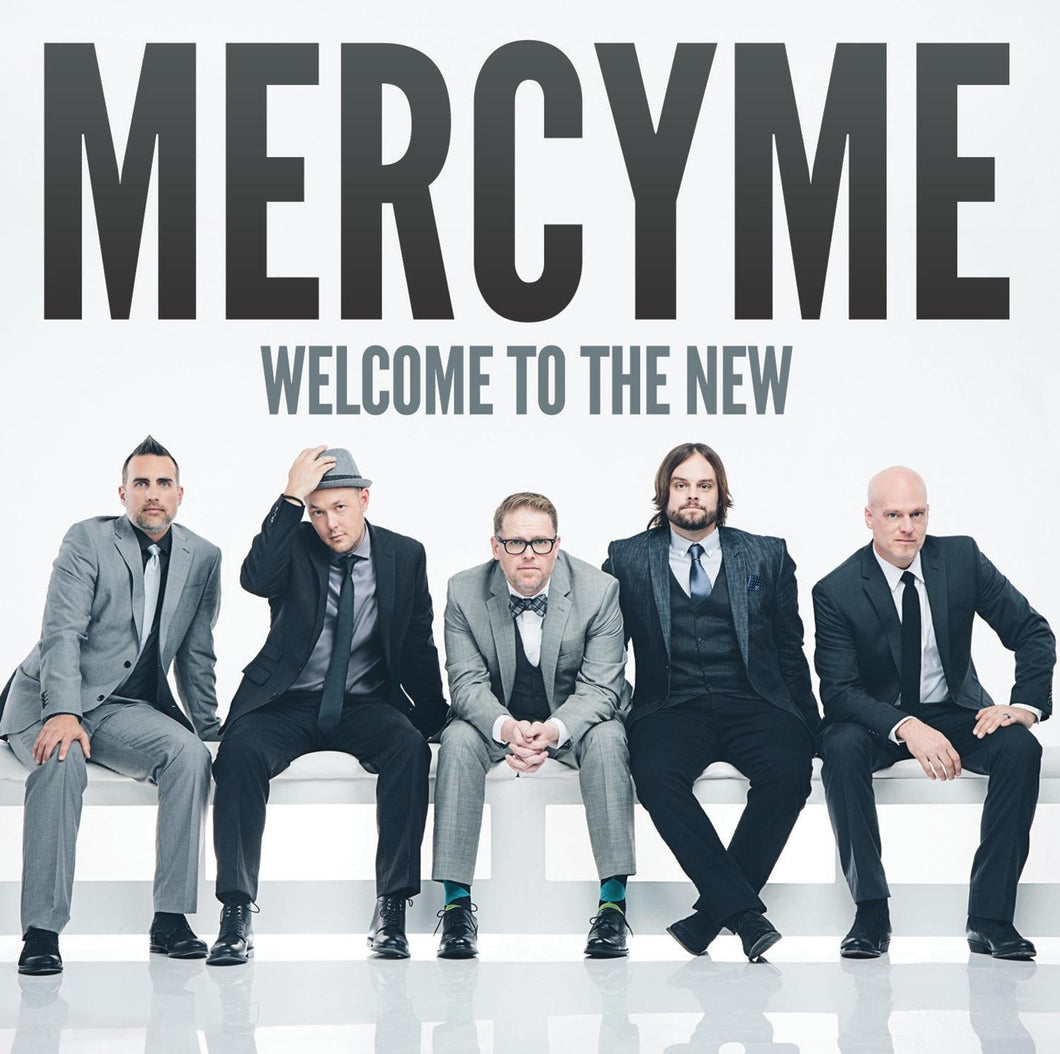 MercyMe Welcome to the New CD