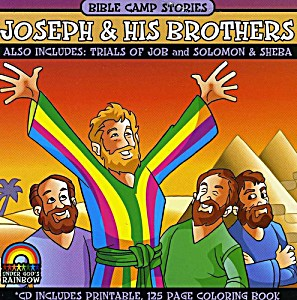 Bible Camp Stories : Joseph & His Brothers CD