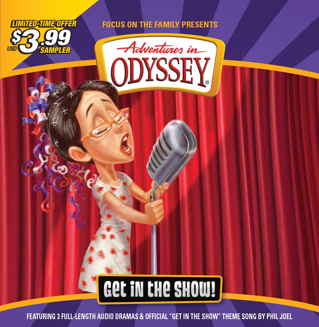 Adventures in Odyssey Get in the Show CD