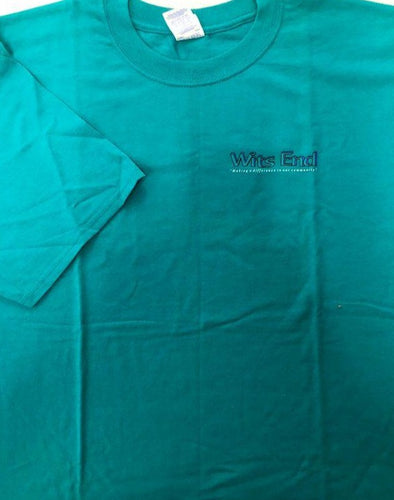 T-Shirt Wits End Teal