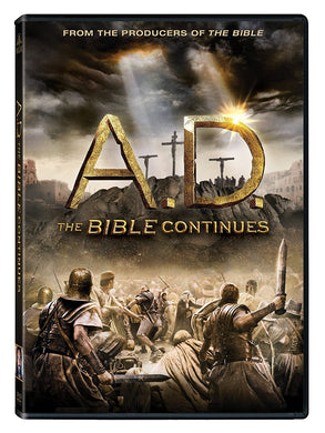 A.D. Bible Continues 4DVD