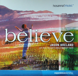 Jason Breland Believe CD