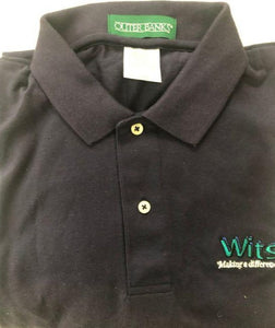 Polo Shirt Wits End Navy Blue