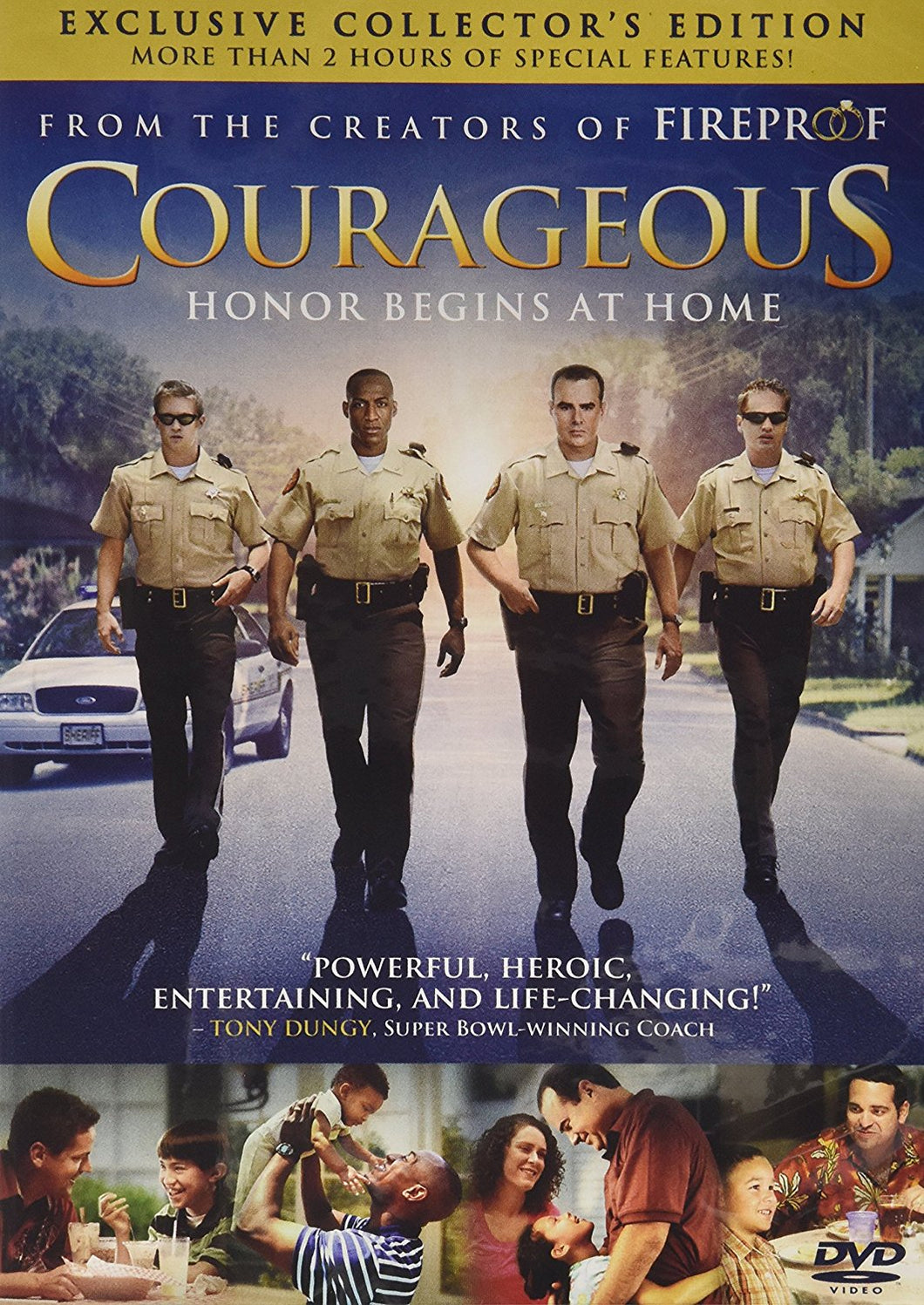 Courageous DVD