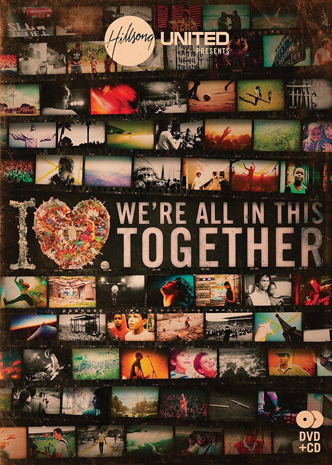 Hillsong We're All In This Together CD/DVD