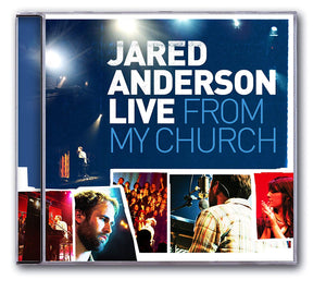 Jared Anderson Live From My Church (Split-Trax) CD