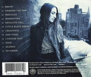 Sara Bareilles Blessed Unrest CD
