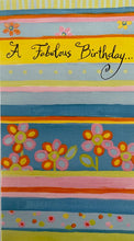Card Birthday : Friend A Fabulous Birthday (1 card)