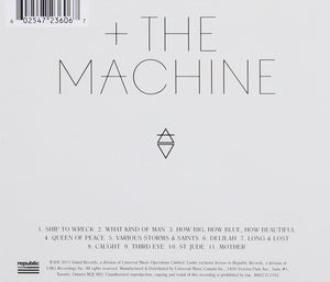 Florence + The Machine How Big, How Blue, How Beautiful CD