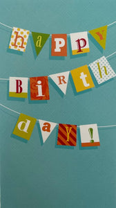 Card Birthday : Happy Birth Day (pack of 2)