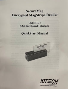MagStripe Reader SecureMag Encrypted USB HID IDRE-334133B-E1